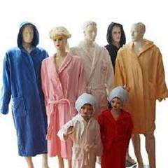 Bath dressing gowns