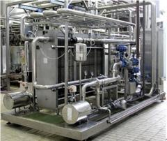 Lamellate pasteurizer