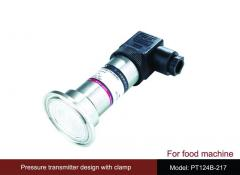 Pressure sensors for the food industry and