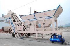 HZSY25 Mobile concrete mixing plant