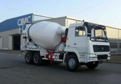Semitrailers for cement