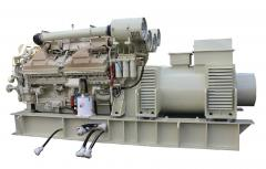 Auxiliary marine diesel-generators
