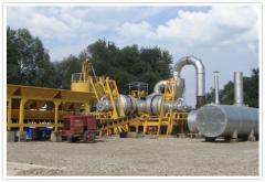 Plants for the production of asphalt mobile