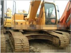 卖二手进口现代225LC-7挖掘机