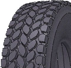 Tires for construction equipment