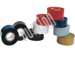 Tape coloring for thermo-transfer press