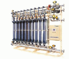 Industrial filters for water purification