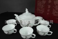 淄博骨瓷茶具