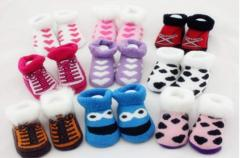 宝宝毛圈袜