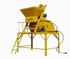 High and steady performance concrete mixer