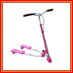 EN71 flashing wheel Frog kick scooter with CE