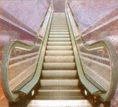 Escalators, travolators, moving stairs