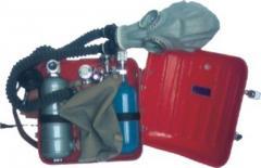 挎式负压氧气呼吸器