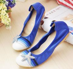 Flat lady sandal shoe 2012 hot sell