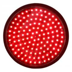 200mm Red Full Ball Traffic Lamp with...
