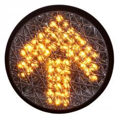 200mm Yellow Arrow Traffic Lamp with Cobweb...