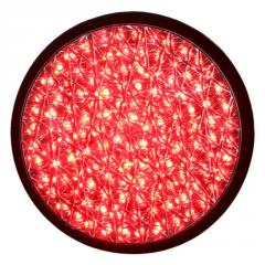 200mm Red Full Ball Traffic Lamp with Cobweb...