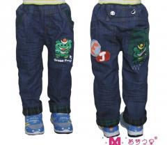 中童牛仔裤