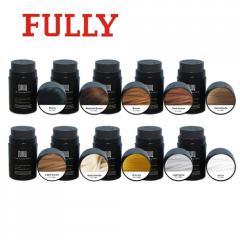 Fully hair building fibers/keratin hair