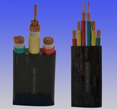 Flat belt cables