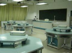 The equipment laboratory in physics (section the
