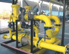 Devices for gas pressure regulation for gas