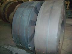 Steel black ribbon (annealed) rolls
