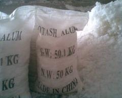 Aluminum potassium alum