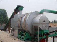 High capacity wood dryer machine