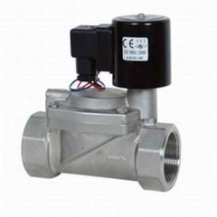 Electromagnetic valves for liquid and gaseous