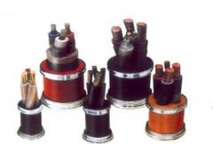 Cables for welding machines