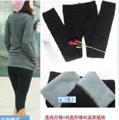 M113 润韵品牌优质版修身显瘦 莫代尔棉+竹炭纤维双层保暖九分裤