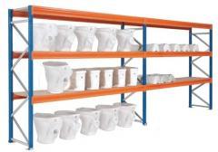 Convetional warehouse shelving