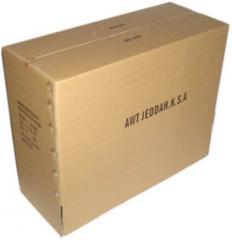 Cajones de cartón