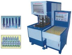 The equipment for manufacture polyethylene bottle