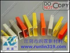 Profile fiberglass plastics