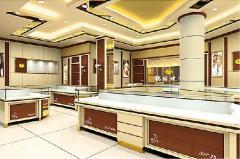 金银珠宝展示柜台