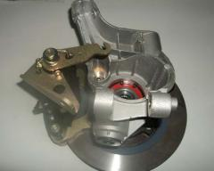 Rear brake disks