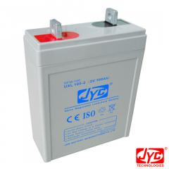 JYC UXL100-2 (2V 100AH) VRLA gel rechargeable