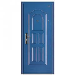 Entry armoured doors