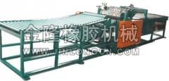 Motor vehicle tire processing equipment