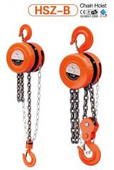 Chain hoists, hoisting devices, 250kg - 10t.