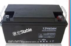 稳定牌12V65AH普通阀控式铅酸蓄电池