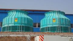 High-rise cooling towers