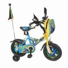 童车 青年自行车 酷  蓝色 男孩