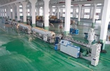 PE给水燃气管材挤出生产线