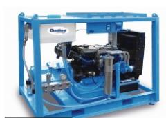 GD100柴油驱动高压清洗机