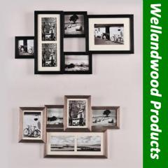 Wall mount photo shelves