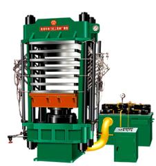 XLB-Q1500x2000x6/10牛柱式橡塑发泡成型机
