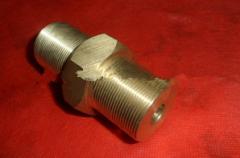 M36铜非标加工 数控车削件 连接轴